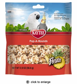 Kaytee Fiesta Pop-A-Rounds Pineapple for Birds 2oz