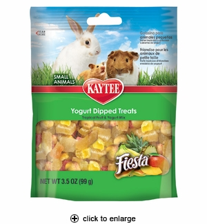 Kaytee Fiesta Tropical Fruit & Yogurt Mix Small Animals 3.5 oz