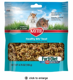 Kaytee Fort-Diet PH Healthy Bits for Hamster & Gerbil 4.75oz