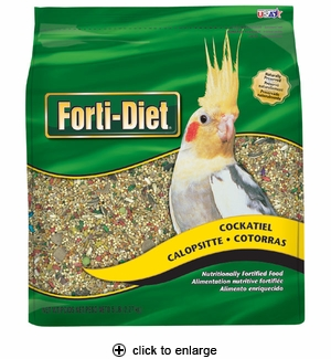 Kaytee Forti-Diet Cockatiel Food 5 lbs.