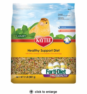 Kaytee Forti-Diet Egg-Cite! Canary Food 2 lbs.