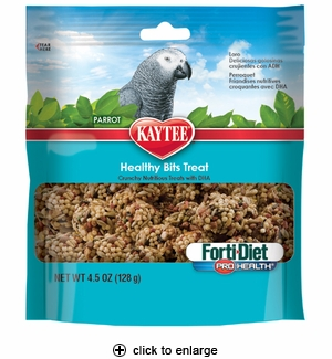 Kaytee Forti-Diet PH Healthy Bits Treat for Parrots 4.75oz