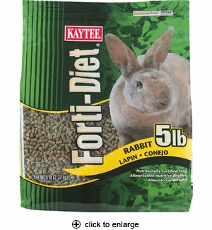Kaytee Forti-Diet Rabbit Food 5 lbs.