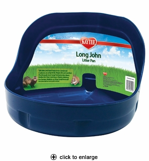 Kaytee Long John Hi-Side Litter Pan