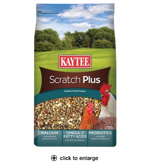 Kaytee Scratch Plus Poultry Supplement 3 lbs