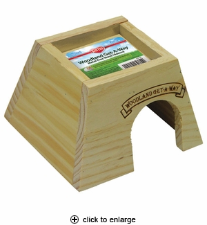 Kaytee Woodland Get-A-Way Hideout Small
