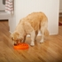 Outward Hound Fun Feeder Slow Feed Dog Bowl Orange Large