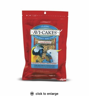 Lafeber's Avi-Cakes For Macaws & Cockatoos 1 lb.
