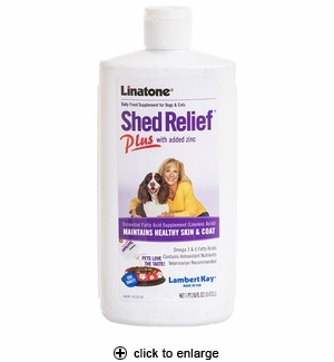 Lambert Kay Linatone Shed Relief Plus Supplement 16oz
