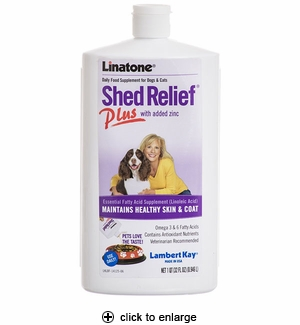 Lambert Kay Linatone Shed Relief Plus Supplement 32oz