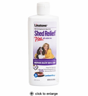 Lambert Kay Linatone Shed Relief Plus Supplement 8oz