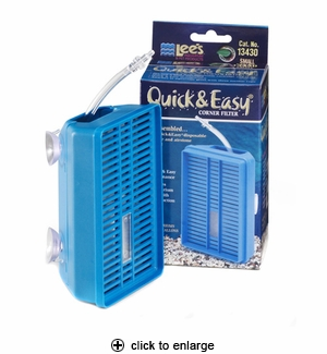 Lee's Quick & Easy Corner Filter Small