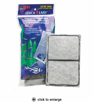 Lee's Quick & Easy Disposable Cartridge Large 2pk