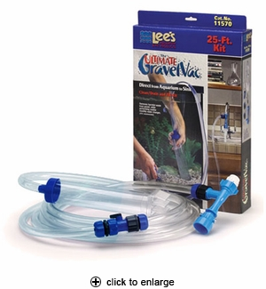 Lee's The Ultimate Gravel Vac Clean/Drain and Fill Kit 25 ft