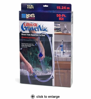 Lee's The Ultimate Gravel Vac Clean/Drain and Fill Kit 50 ft