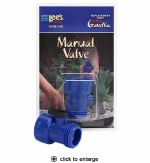 Lee's Ultimate Gravel Vac Manual Valve