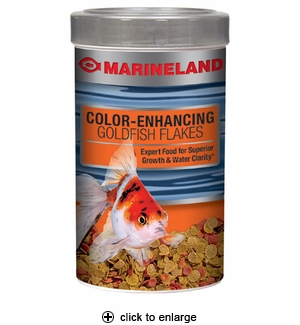 Marineland Color Enhancing Goldfish Flakes 4.41oz