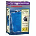 "Marineland Emperor ""Rite-Size E"" Filter Cartridges 4pk."