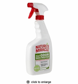 Nature's Miracle 3in1 Odor Destroyer Mountain Fresh 24oz