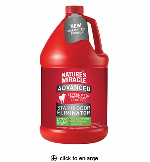 Nature's Miracle Advanced Stain & Odor Remover 1 gal