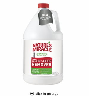 Nature's Miracle Just For Cats Stain & Odor Remover 1 Gallon