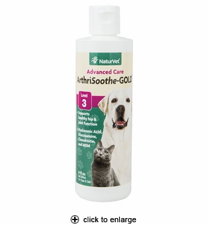 NaturVet ArthriSoothe-GOLD Hip & Joint Liquid 8 oz