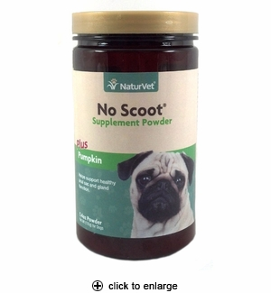 NaturVet No Scoot Anal Gland Support Powder 155g