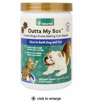 NaturVet Outta My Box Soft Chews for Dogs & Cats 500ct