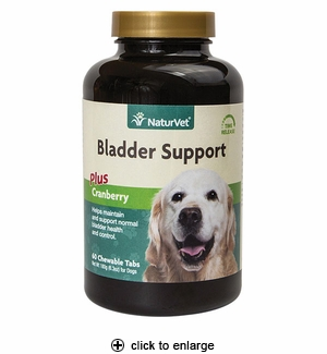 NaturVet Senior Bladder Support Tablets 60ct