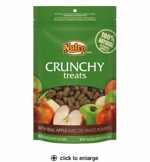 Nutro Crunchy Treats with Real Apple for Dogs 10oz