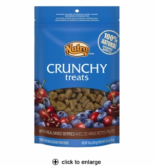 Nutro Crunchy Treats with Real Mixed Berries for Dogs 10oz