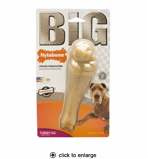 Nylabone Big Chews Turkey Leg