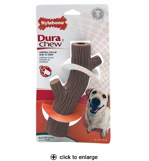 Nylabone Dura Chew Hollow Stick Bacon Souper