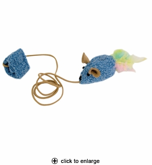 Our Pet's Play-N-Squeak Kitten Wee Catch of the Day Toy