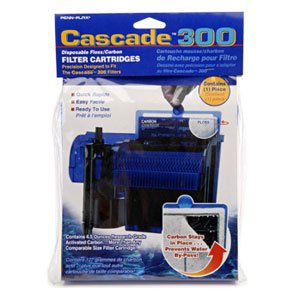 Penn-Plax Cascade 300 Filter Cartridges 3pk #CPF5C3