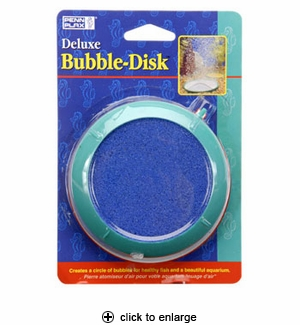 Penn-Plax Deluxe Bubble-Disk Medium 4