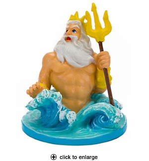 Penn-Plax The Little Mermaid King Triton Aquarium Ornament
