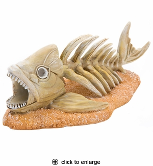 Penn-Plax Zombie Fish Aquarium Ornament