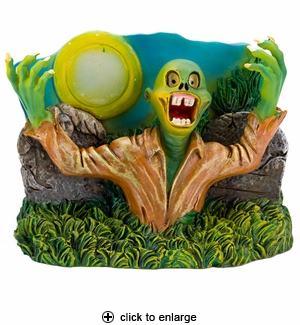 Penn-Plax Zombie Rising from Grave Aquarium Ornament