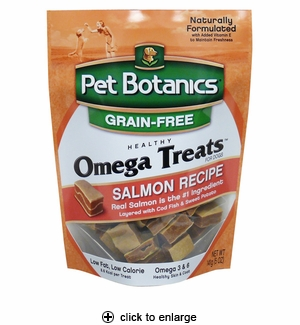 Pet Botanics Omega Treats for Dogs Salmon 5oz