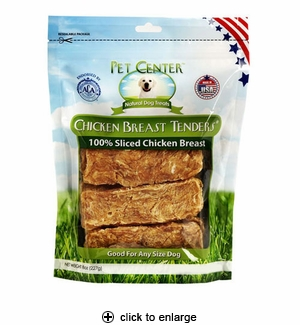 Pet Center USA Chicken Breast Tenders 8oz