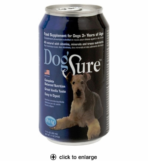 PetAg DogSure Meal Replacement for Dogs 11 oz