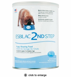 PetAg Esbilac 2nd Step Puppy Weaning Food 14 oz
