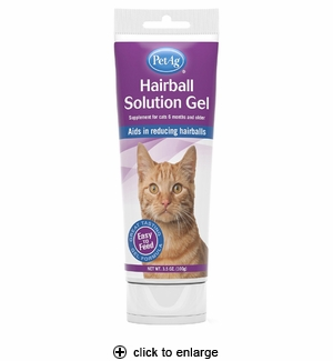 PetAg Hairball Solution Gel 3.5 oz