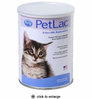 PetAg PetLac Kitten Milk Replacement Powder 10.5oz