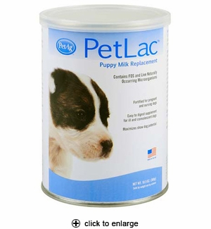PetAg PetLac Puppy Milk Replacement Powder 10.5oz