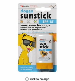 Petkin Doggy Sunstick SPF 15 0.5oz