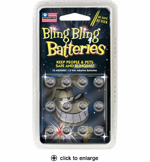 Petsport USA Bling Bling Batteries 12pk