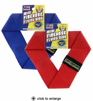 Petsport USA Mini Firehose Flying Disk