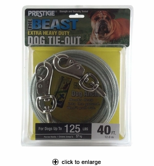 Prestige The Beast Dog Tie-Out 40 ft.